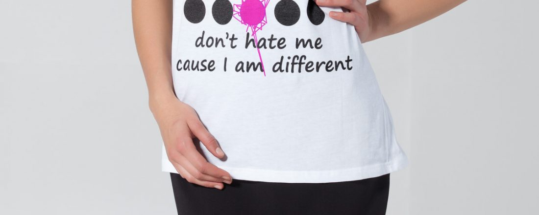 Don't hate me u2018cause I am different