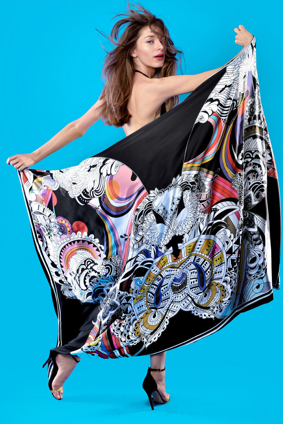 Esarfa Oversized Butterfly Effect""""