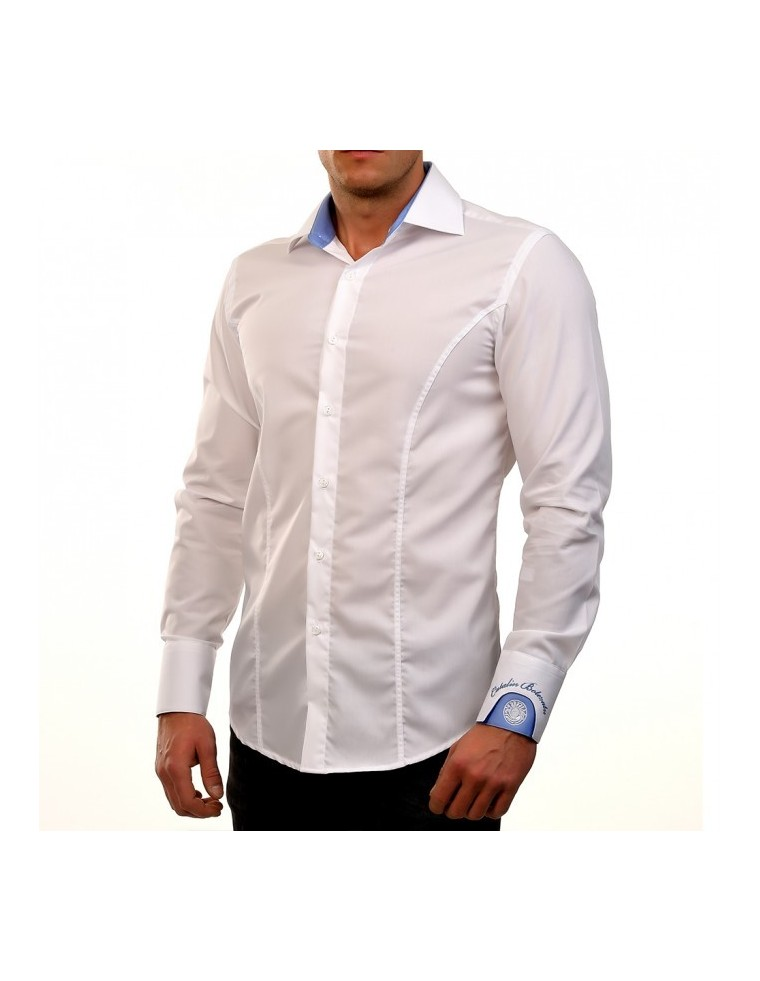 Camasa White Clock shirt