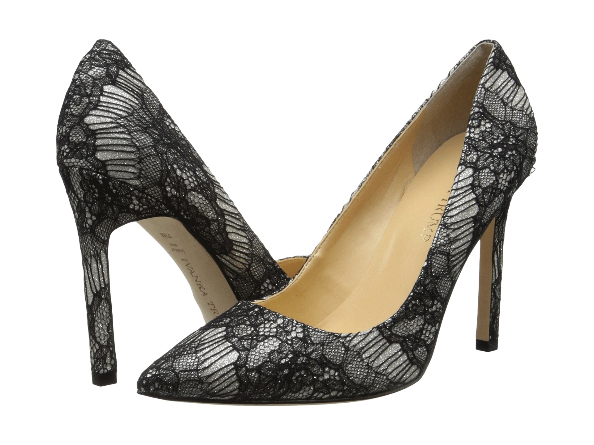 Ivanka Trump Carra3 Gold/Black Lace