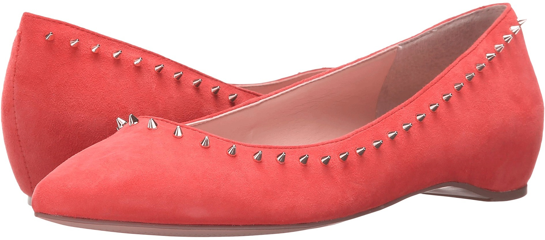 Ivanka Trump Cecille Red Suede