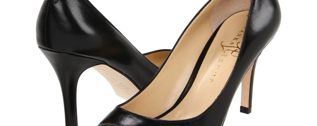 Ivanka Trump Cleo Black Leather