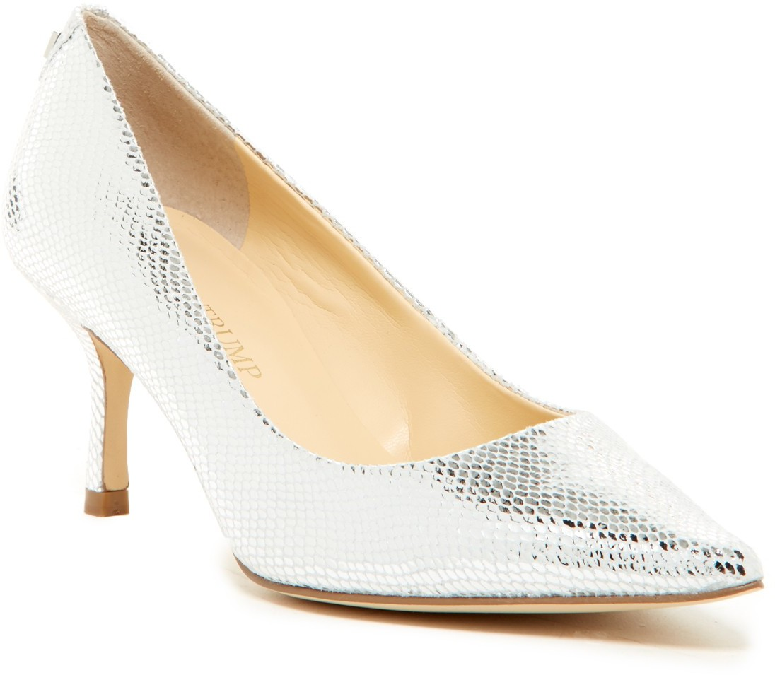 Ivanka Trump Indico Pump - Wide Width Available SILLE