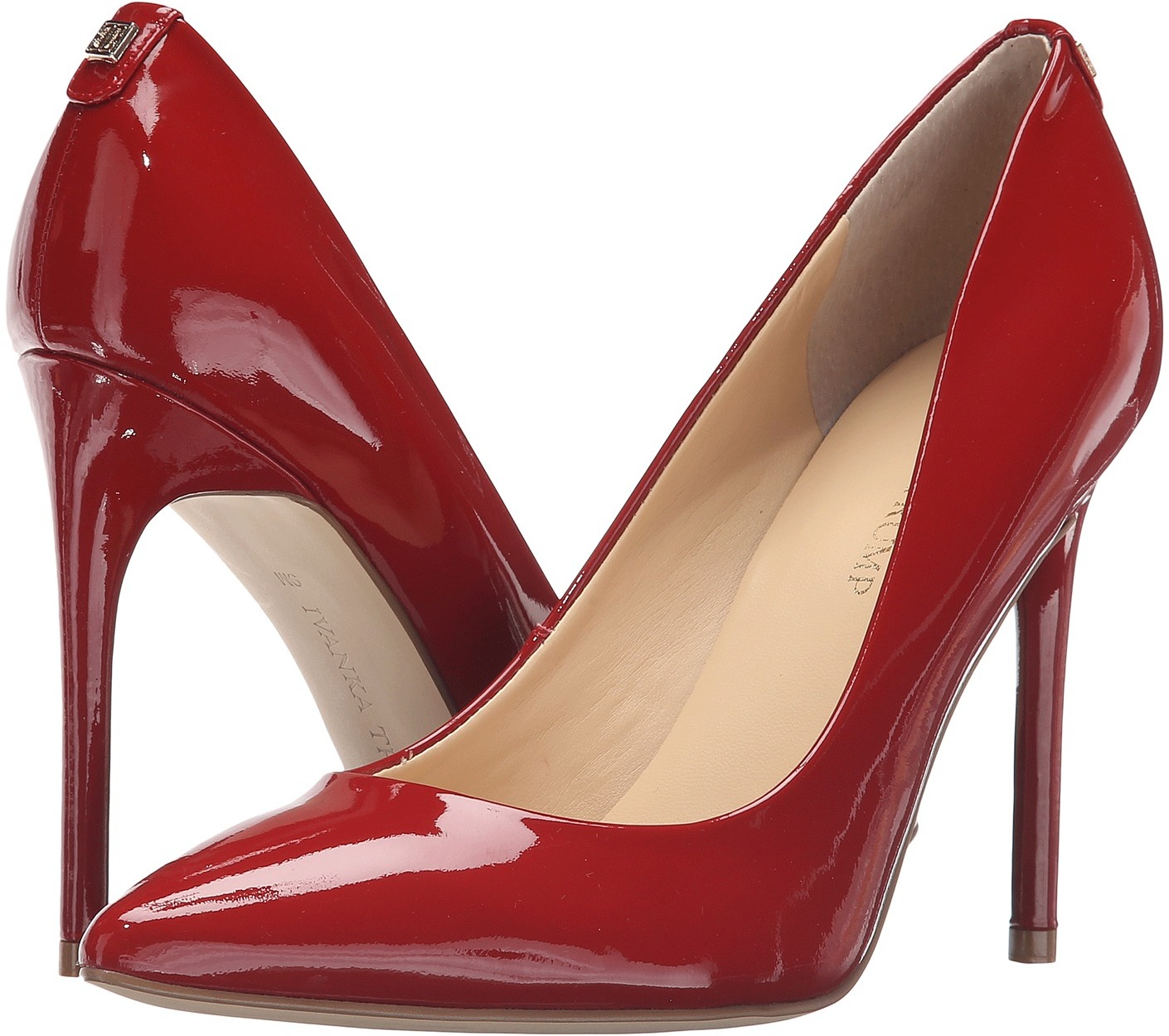 Ivanka Trump Kayden 4 Red Patent 1
