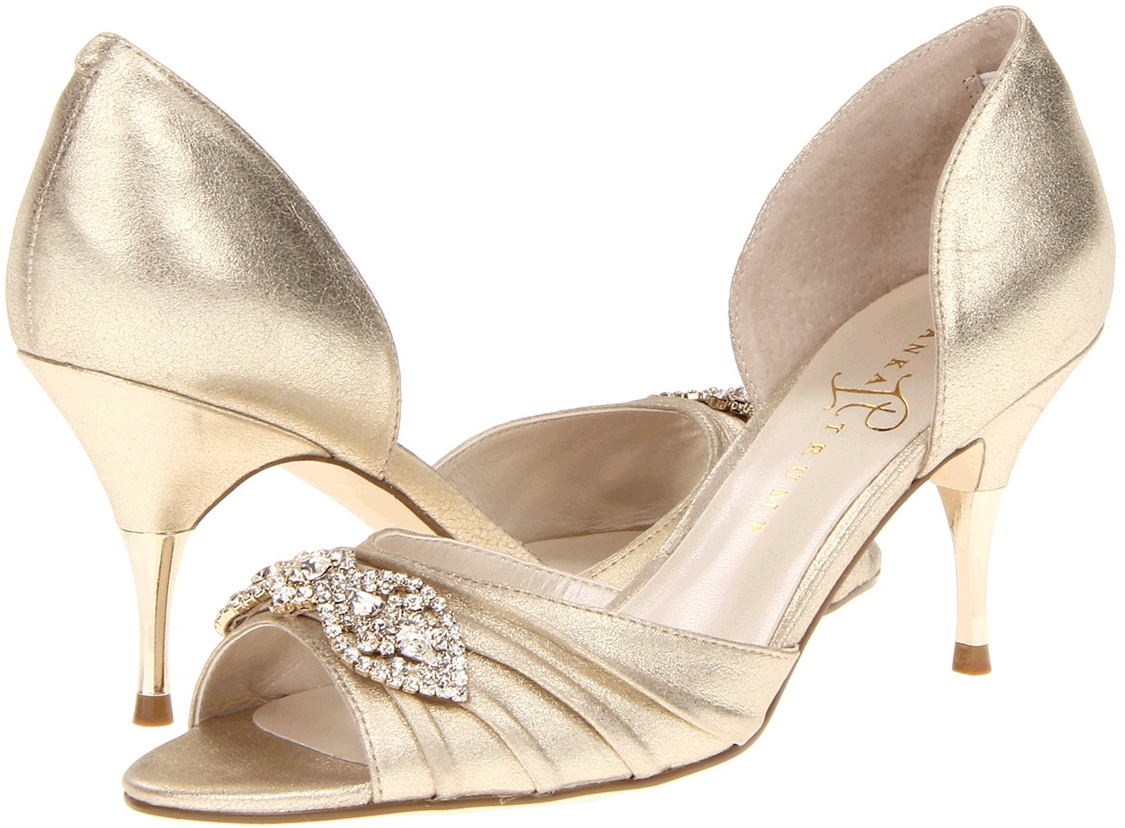 Ivanka Trump Nanci Gold Suede