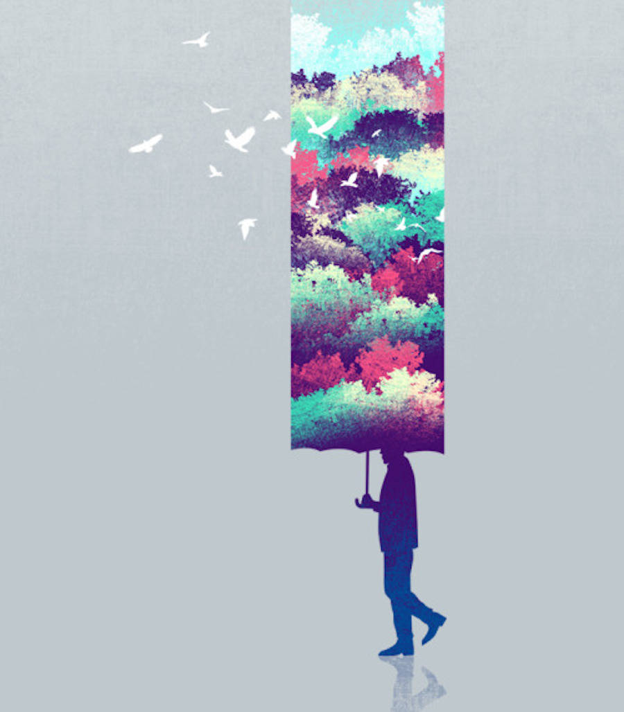 Surrealism That Will Simulate You On Thinking Tang Yau Hoong Illustrations