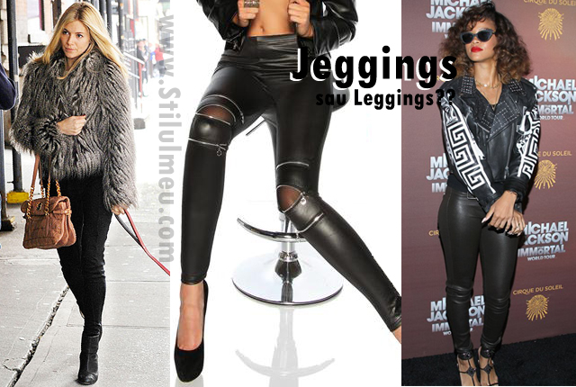 Jeggings, revolutia modei secolului 21? So ... Leggings sau Jeggings?