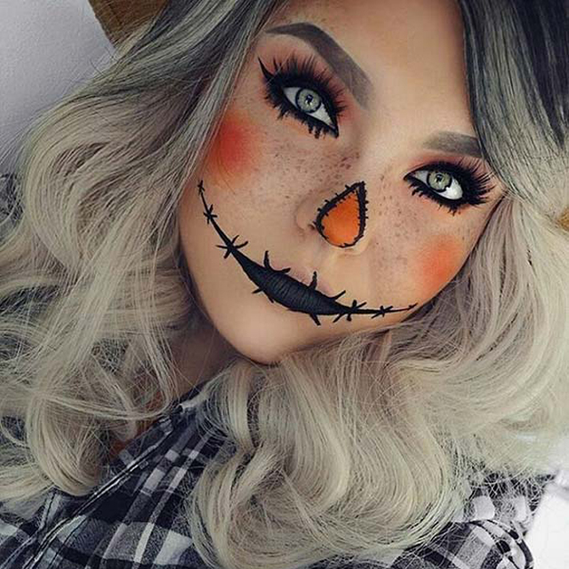 Idei de make-up de Halloween pe care le poti aplica si tu