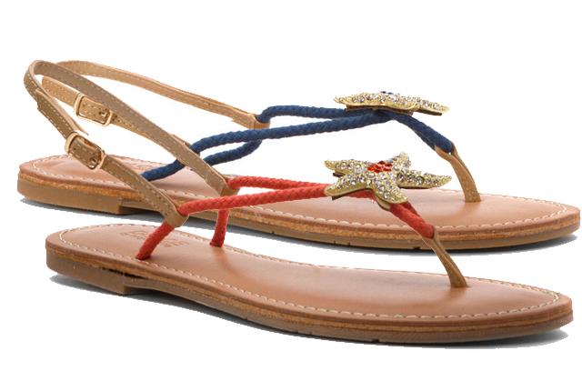 Daca adori marea … Sandalele cu Stea de mare Mojo Moxy