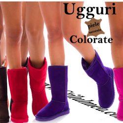 Rasfata-ti degetele picioarelor in cizme UGG din piele naturala colorate!