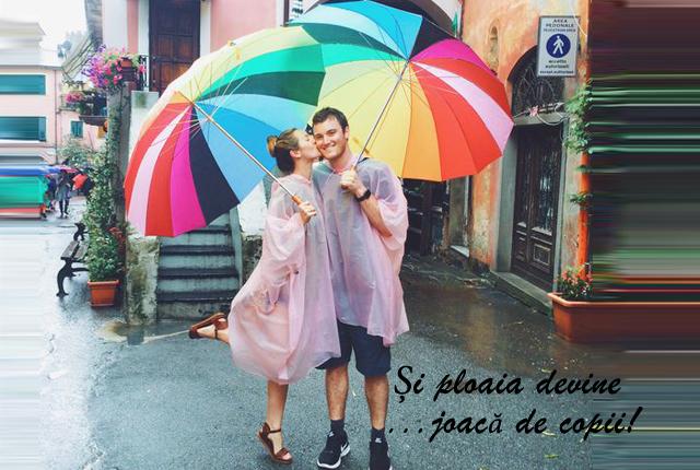 18 Moduri de a purta umbrele cu stil