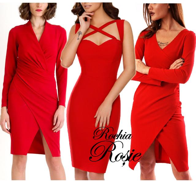 Voi de ce nu aveti prea multe rochii de ocazie rosii in dulap?