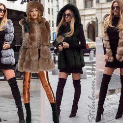 Hainele si vestele de blana in trend iti definesc stilul!