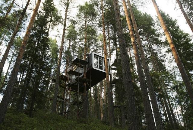 Case ascunse in care poti evada din realitate, tu ai putea sa locuiesti aici?