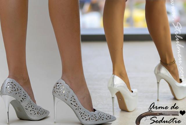 Pantofii de dama senzationali cu tocuri, arme de seductie ale femeilor?