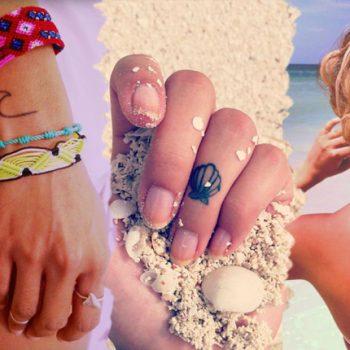 Iubesti vara si mai ales marea? Modele de tatuaje mici cu tematica de vara