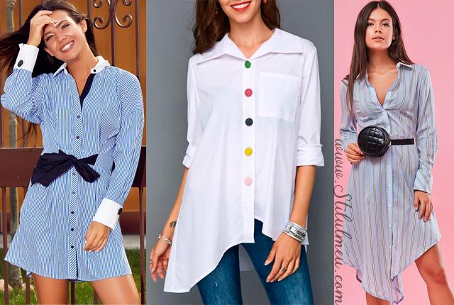 Modele de camasi de dama la moda anul acesta