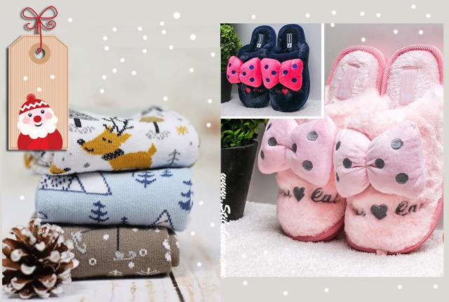 Idei de cadouri necesare in fiecare zi: sosete diferite si papuci de casa pufosi!
