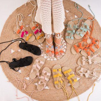 Sandale gladiator cu toc si fara toc sau cu platforma la moda anul acesta