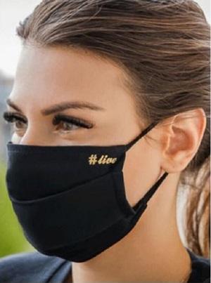 Set 5 Masti de Protectie Antimicrobiene Negre Jurinex