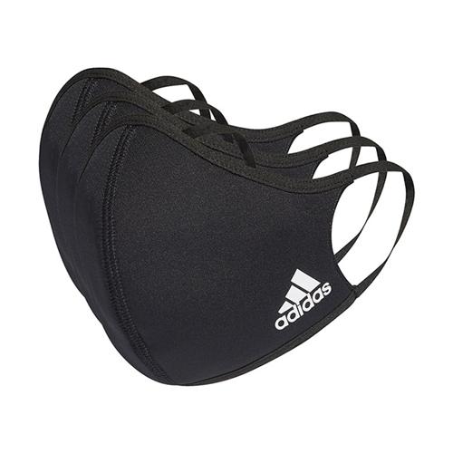 Set 3 Masti de Protectie Reutilizabile Adidas Performance Negre