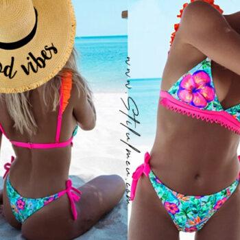 Top HOT costume de baie colorate la moda de pus in valiza vara aceasta!