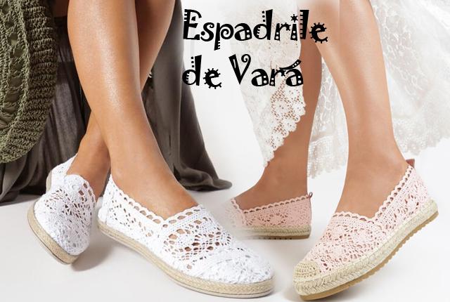 Cele mai frumoase modele de espadrile dama din dantela, panza, jeans sau piele, ieftine sau de brand pe care sa le cumparati online!