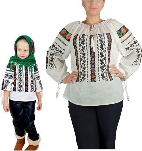 Set ii traditionale Mama - Fiica - Julieta
