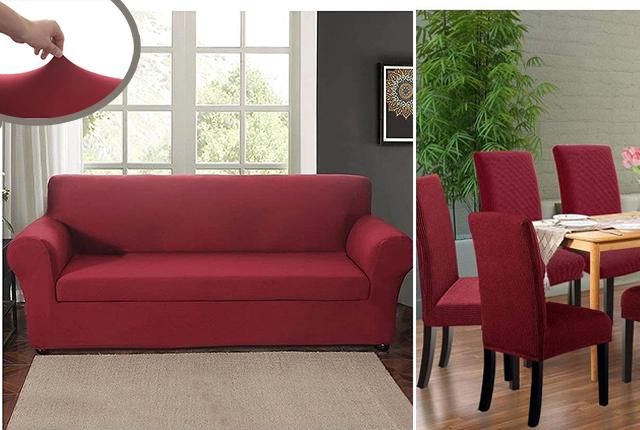 Huse elastice pentru canapele fotolii scaune 2, 3, 4 locuri