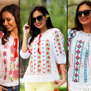 Cele mai frumoase modele de ii traditionale online, o plecaciune iei romanesti!